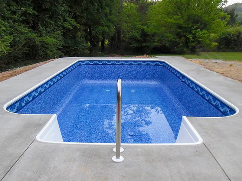 Law Pools & Patio rectangle pool