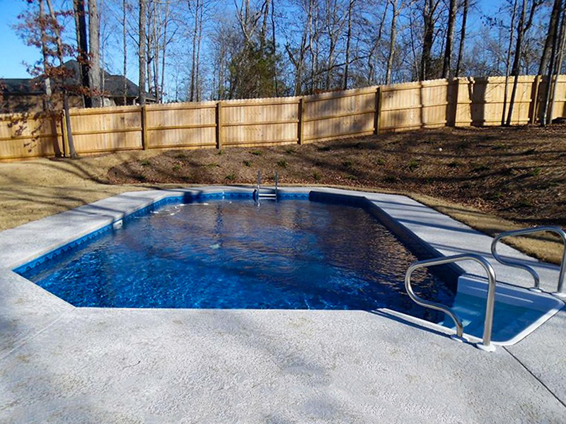 Law Pools & Patio crecian pool