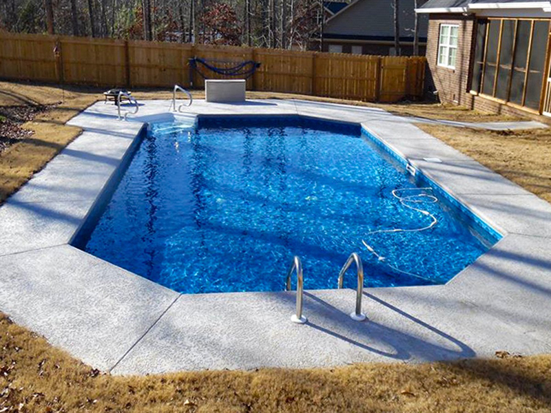 Law Pools & Patio grecian pool