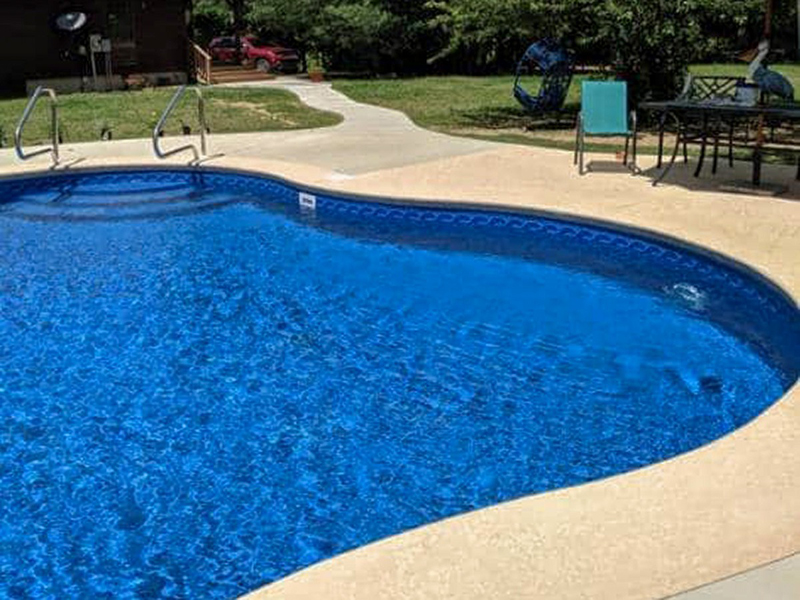 Law Pools & Patio walkin pool