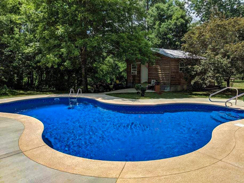 Law Pools & Patio walk in pool