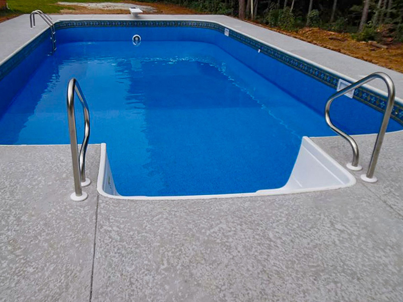 Law Pools & Patio rectangular pool