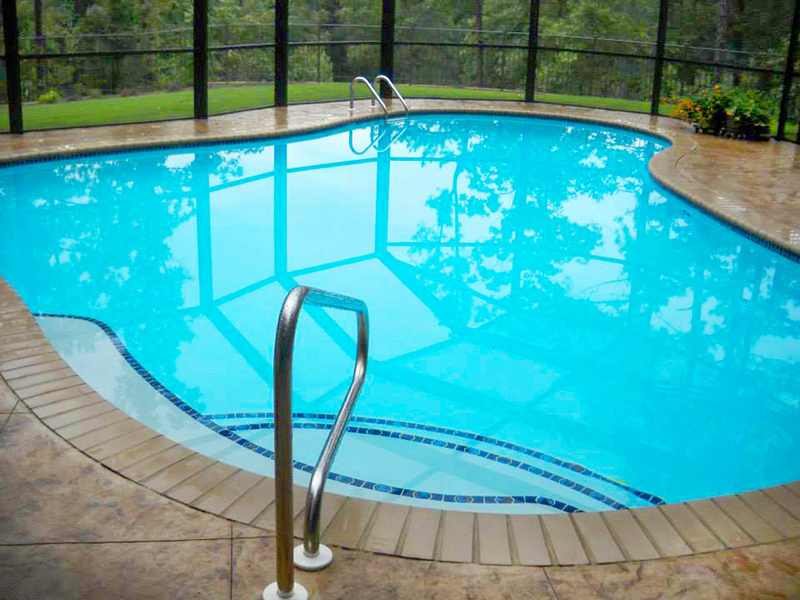 Law Pools & Patio indoor room pool